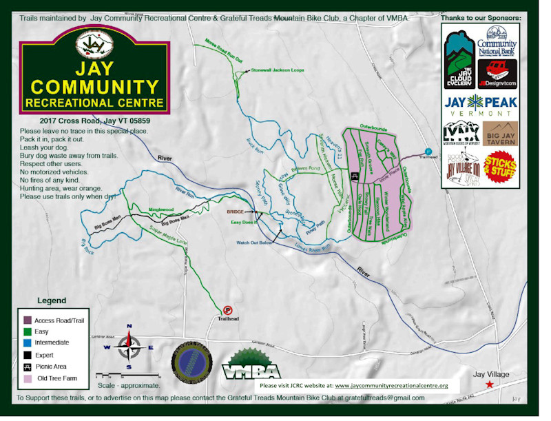 JCRC Trail Map - Welcome to Jay, Vermont on oglebay park trail map, snowshoe rentals, snowshoe hotel map, winterplace ski resort trail map, north mountain trail map, brundage mountain trail map, stevens pass ski area trail map, brian head ski resort trail map, allegheny mountain trail map, north carolina trail map, seven springs mountain resort trail map, pine knob trail map, snowbasin mountain trail map, norway mountain trail map, tamarack resort trail map, cross country ski trail map, snowshoe lodging map, copper mountain trail map, les arcs trail map, breckenridge trail map,